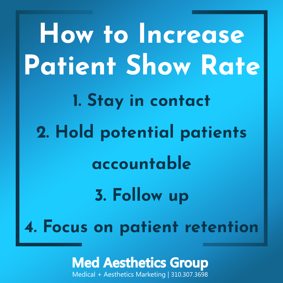 increase patient show rate